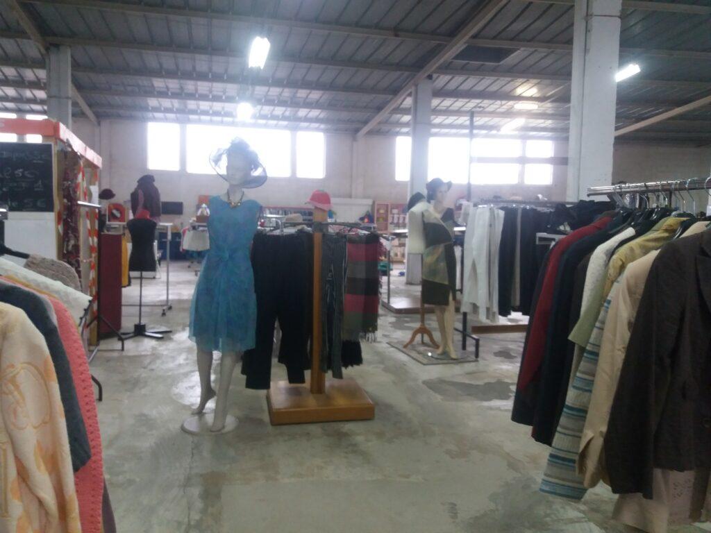 Tout nos vêtements ont été trié au Comité d'Amis de Paray le Monial